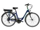Rower elektryczny Lovelec Capella BLUE / MINT, rama 19, akumulator bagażnikowy 13 Ah, 250 W, silnik tylny