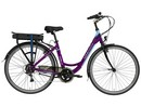 Rower elektryczny Lovelec Capella VIOLET / BLUE, rama 19, akumulator bagażnikowy 13 Ah, 250 W, silnik tylny