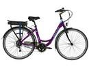 Rower elektryczny Lovelec Capella VIOLET / BLUE, rama 19, akumulator bagażnikowy 16 Ah, 250 W, silnik tylny