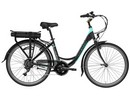 Rower elektryczny Lovelec Polaris BLACK / MINT, rama 17, akumulator bagażnikowy 10 Ah, 250 W,silnik tylny