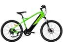 Rower elektryczny Lovelec Fizz GREEN / BLACK, rama 16, akumulator integrowany 16 Ah, 250 W, silnik tylny, dla dzieci