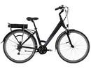Rower elektryczny Lovelec Maia BLACK / GREY, rama 19, akumulator bagażnikowy 16 Ah, 250 W,silnik centralny