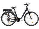 Rower elektryczny Lovelec Lava BLACK, akumulator bagażnikowy 10,5 Ah, silnik tylny