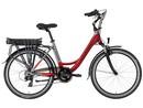 Lovelec Polaris RED/GREY, rám 18, nosičová baterie 10 Ah, motor zadní