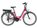 Lovelec Capella RED/RUBY, rám 18, nosičová baterie 10 Ah, motor zadní