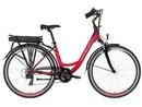 LOVELEC Capella RED/RUBY, rám 18'', nosičová baterie 10 Ah, zadní motor