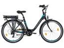 LOVELEC Nardo BLACK/BLUE, rám 17'', nosičová baterie 7,5 Ah, zadní motor
