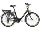 LOVELEC Nardo BLACK/GREEN, rám 17'', nosičová baterie 7,5 Ah, zadní motor