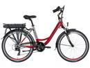 LOVELEC Polaris RED/GREY, rám 18'', nosičová baterie 15 Ah, zadní motor