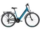 LOVELEC Rana BLUE/AZURE, rám 18'', integrovaná baterie 15 Ah, zadní motor